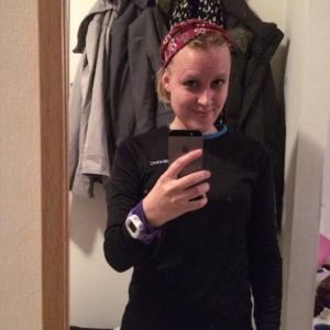 Äntligen fick man ta en löpar-selfie igen!