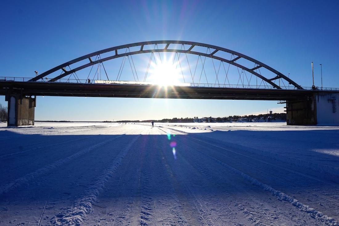 Bergnäsbron - ingången till Luleå!